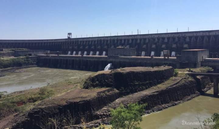 Itaipu binacional hidrelétrica, turismo, visita, foz do iguaçu